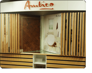 Amtico Flooring Display